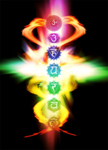 Chakra Energy moving freely